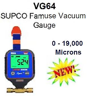 SUPCO Famuse Vacuum Guage